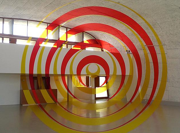 Феличе Варини: оптические иллюзии на крыше дома Ле Корбюзье