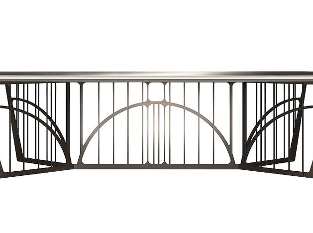 Главные герои парадных столовых: столы на стальных основаниях