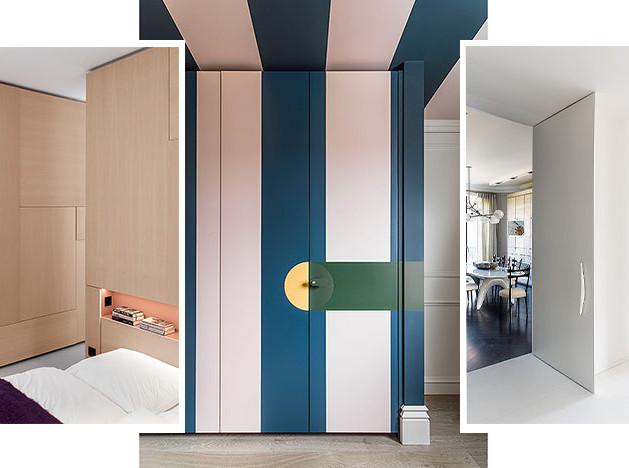 Встроенный шкаф: 25 вариантов