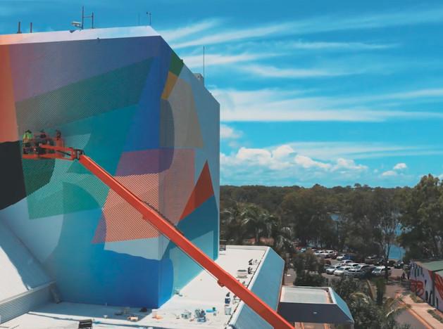 Momo раскрасил Home of the Arts