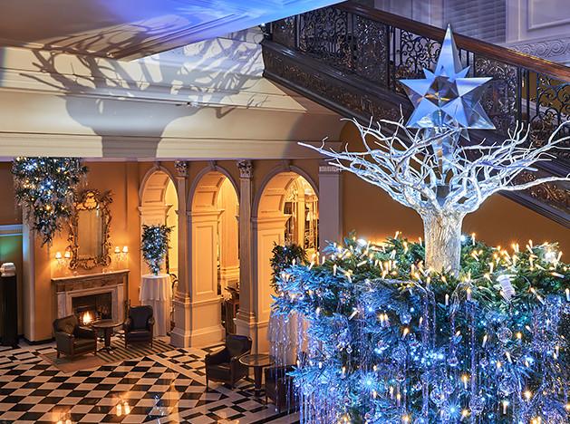 Карл Лагерфельд: Рождество в отеле Claridge's