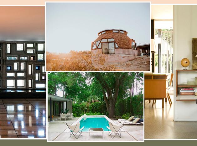 Как пожить в шедевре архитектуры? 7 интерьеров напрокат