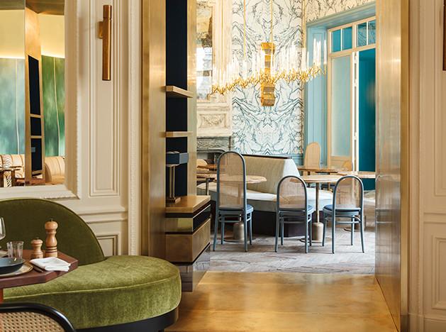 Toro & Liautard: спортивный клуб в парижском особняке