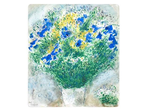 Букеты Марка Шагала на фарфоре Bernardaud