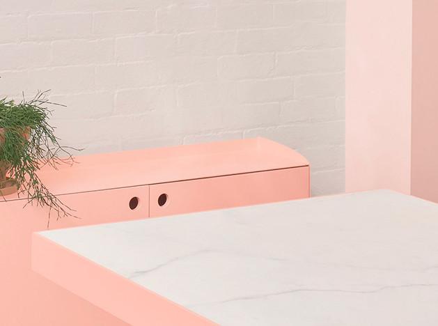 BoardGrove Architects: розовый офис в Мельбурне