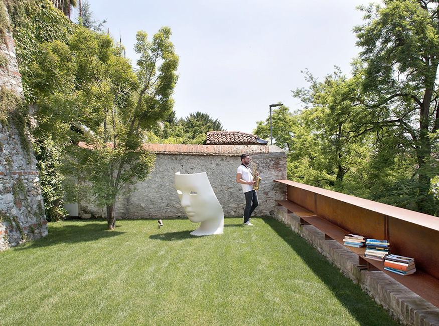 Damilano Studio Architects: двухуровневая квартира в Буске