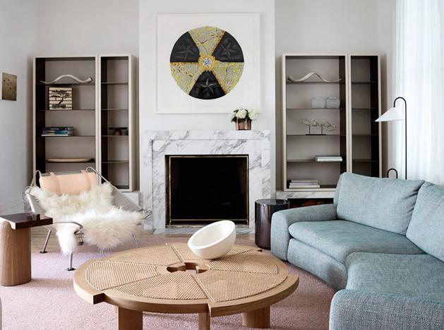 Fiona Lynch Interior Design: австралийский таунхаус в светлых тонах