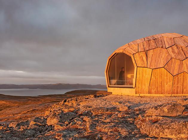 Spinn Arkitekter: норвежские домики для путешественников