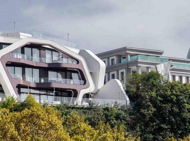 J.Mayer.H: резиденция в Тбилиси