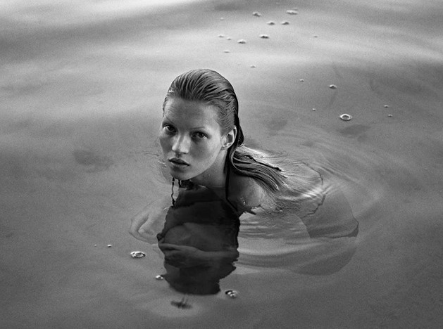Портреты юной Кейт Мосс в книге Марио Сорренти