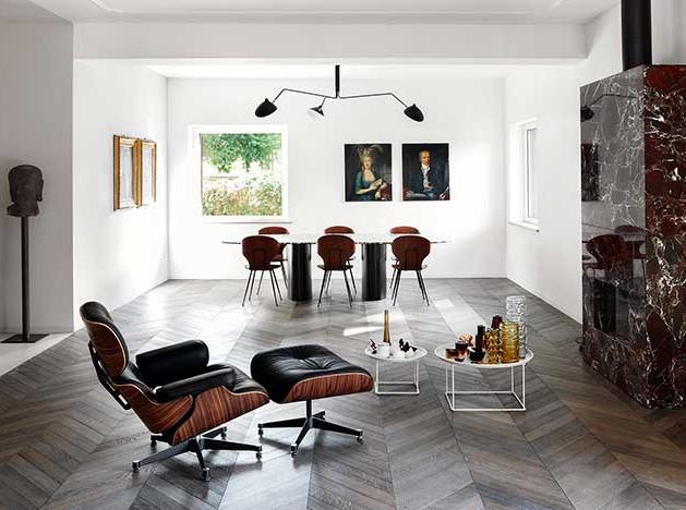 MGK Architects: светлая квартира в Риме