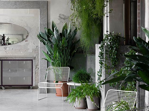 Цветочный склад и магазин по проекту Rina Lovko Studio