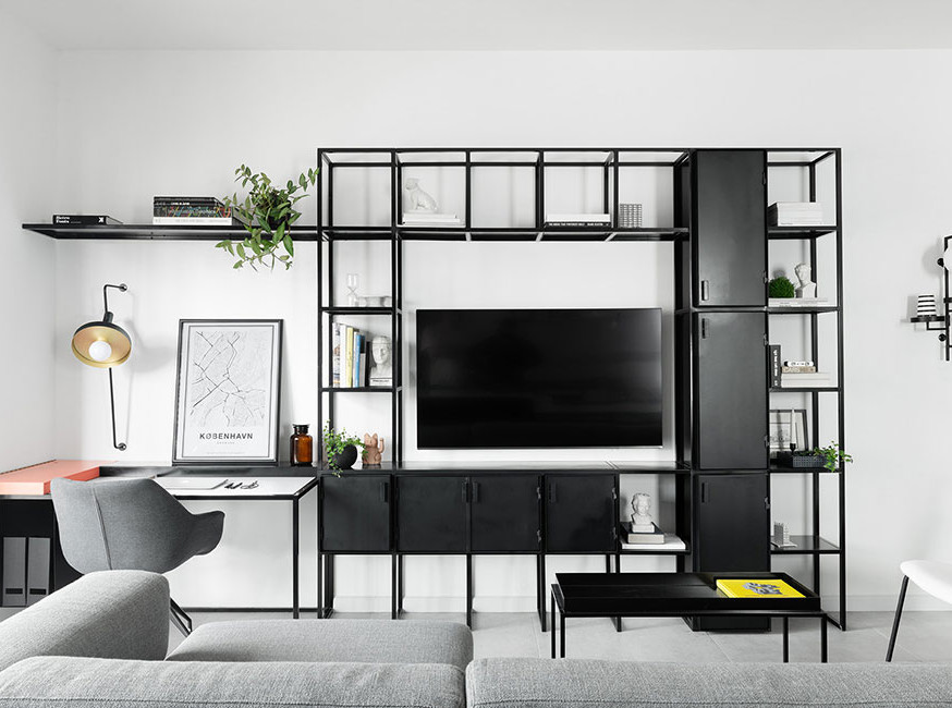 Studio ETN: черно-белый интерьер в Яффе