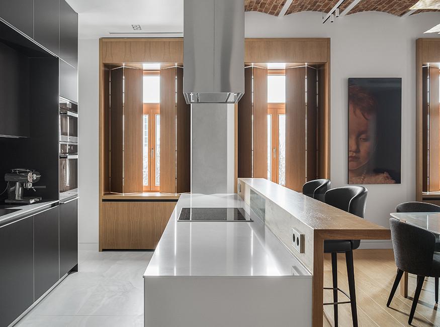 Studioplan: квартира с арочным потолком