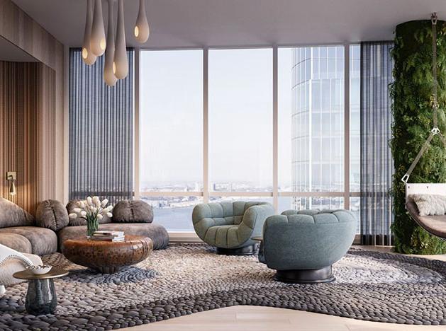 Дизайнерские квартиры Hudson Yards