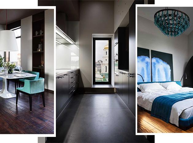 Dreamdesign: двухуровневая квартира в Киеве