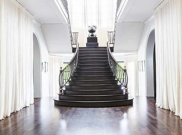 Лестница в доме: маршевая или винтовая?