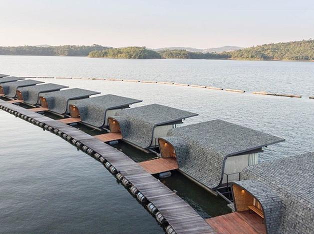 Dersyn Studio: плавучий курорт в Таиланде