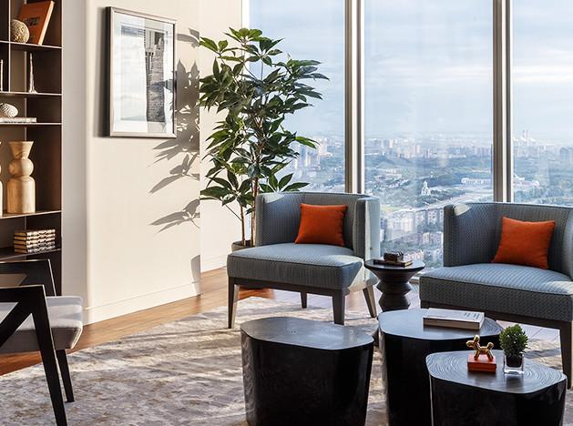 Couture Interiors: квартира в столичном небоскребе за две недели
