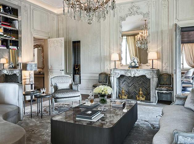 Hôtel de Crillon: «великие апартаменты» Карла Лагерфельда