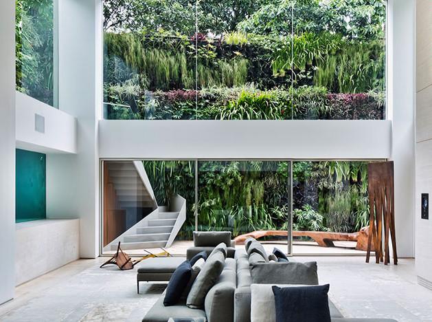 Квартира с бассейном по проекту архитектора Фернанды Маркес