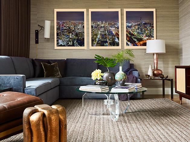 Алан Тэнксли: образцовые апартаменты в Нью-Йорке