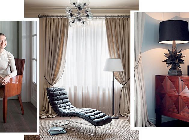 Елена Корнилова: воздушная квартира с мебелью Джо Понти