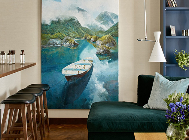 Вероника Судникова: квартира в красках природы