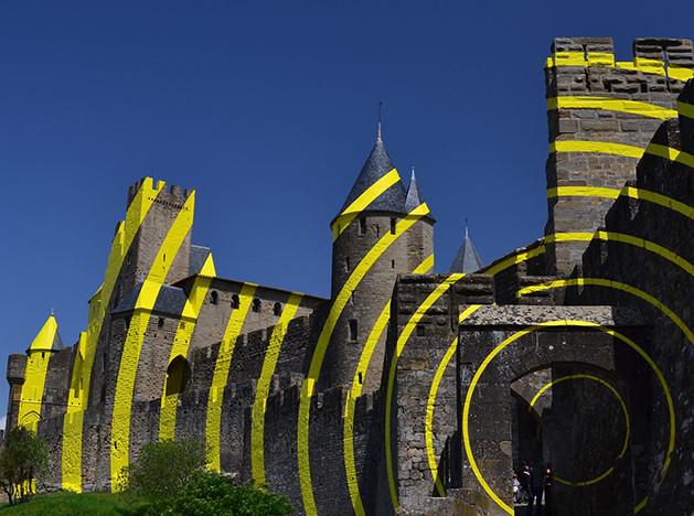 Феличе Варини украсил оп-артом французскую крепость