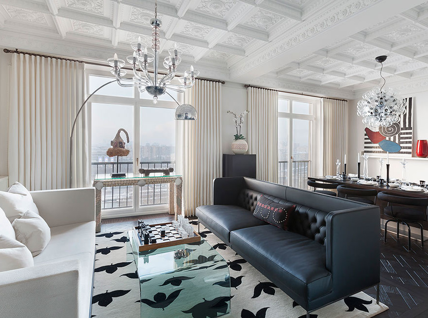 Copper & Tin: квартира в Доме архитекторов