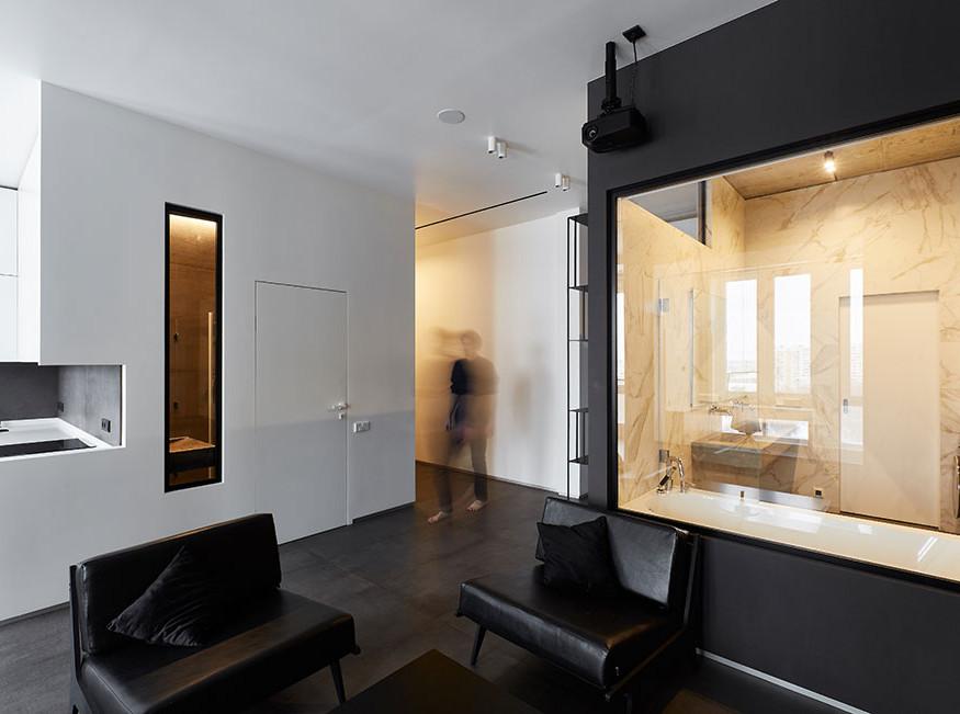 Ruetemple: три комнаты на месте двух