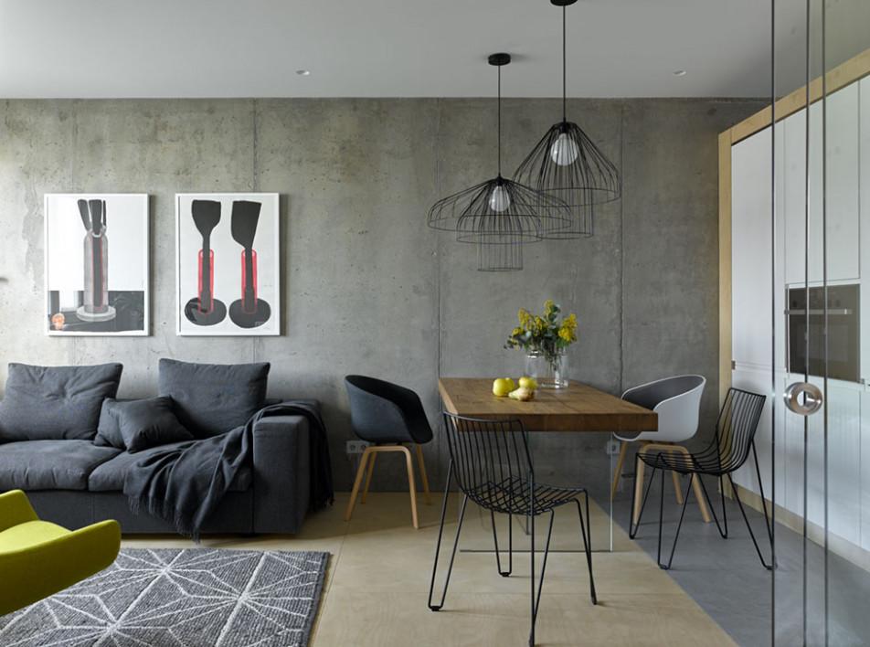 Группа PROforma: квартира 38 кв. метров для дизайнера
