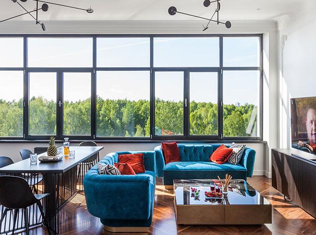 Квартира в Минске для молодого человека по проекту Interra
