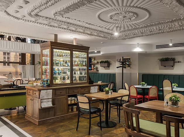Студия Archpoint: эклектичное кафе-гостиная в Москве