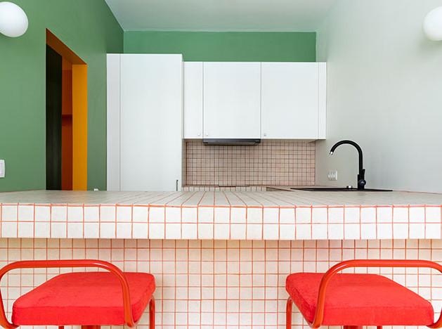 Buro5: планировка маленькой квартиры-распашонки