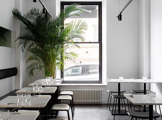 Кафе Bowlroom по проекту Мити Воронцова