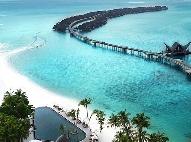 Отель Joali на Мальдивах: арт и дизайн на сахарных пляжах