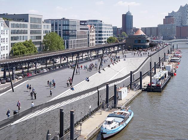 Zaha Hadid Architects: набережная в Гамбурге