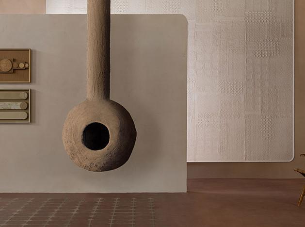 Глиняные стены Matteo Brioni