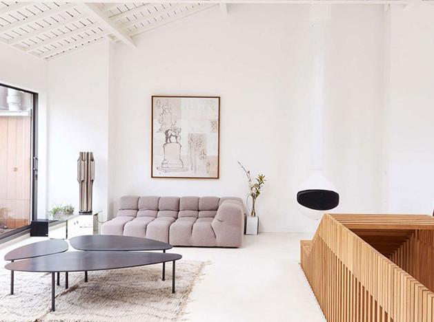 Парижский пентхаус по проекту испанских архитекторов