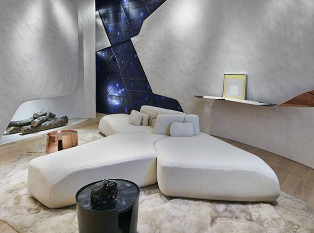 Архитекторы Bismut & Bismut: гостиная для долгих бесед
