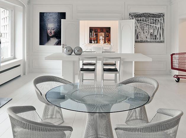 Ролан Девульф: белая квартира в Брюсселе