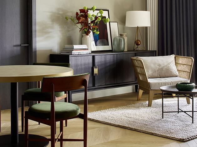 Aiya Design: элегантная квартира в природных тонах