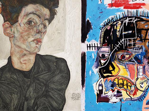 Баскиа + Шиле: выставка бунтарей
