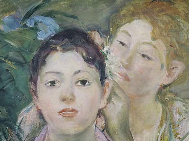 Художница-импрессионист Берта Моризо
