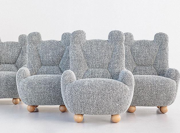 Пьер Йованович: уютные кресла Papa and Baby Bear