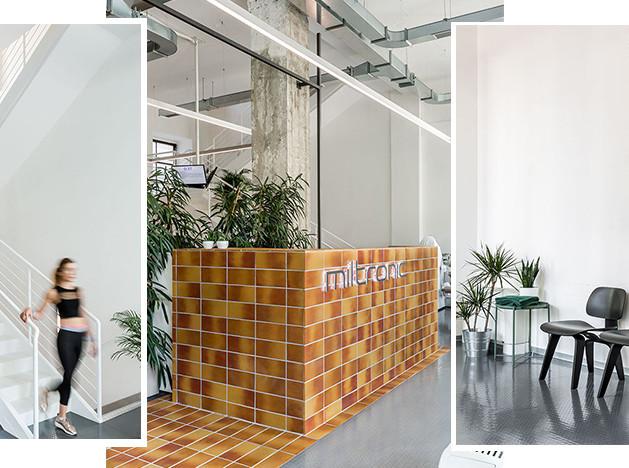 Room Design Büro: фитнес-клуб в Милане