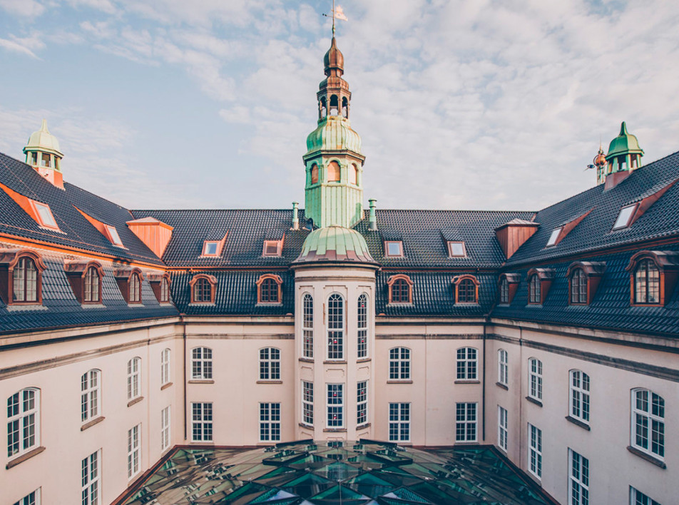 Universal Design Studio: отель на месте телеграфа в Копенгагене