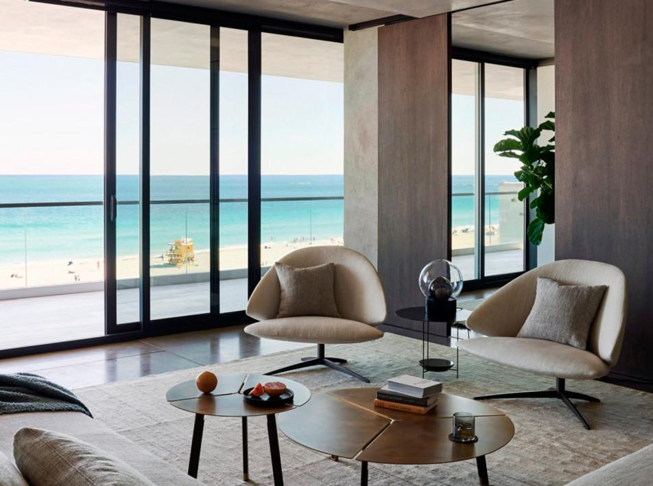 MW Works: семейная квартира на побережье Майами