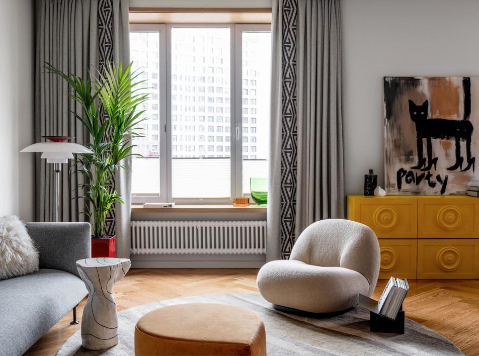 Влада Стеблина: квартира дизайнера